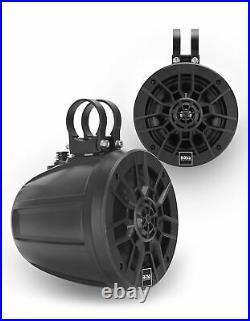 Boss MPWT60 6.5 600 Watt UTV ATV Marine Wakeboard Tower Roll Cage Speakers Pair