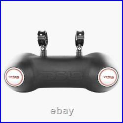 DS18 Dual 10 Black 1800W Wakeboard Tower Marine Speakers Driver RGB 2 Way Pod