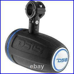 DS18 HYDRO NXL8TPBKNEO 8 Wakeboard Pod Tower Speaker 550W RGB LED Lights