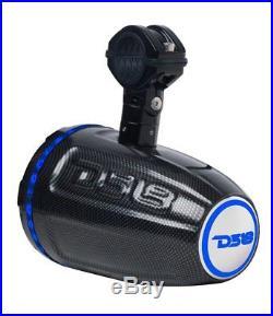 DS18 Hydro CF-DT Wakeboard Tower Marine Driver Speaker UTV ATV Boat Golf Cart
