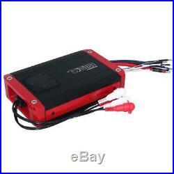 DS18 NXL6TPBK 6.5 Marine Wakeboard Tower Speakers & NXL200.2D Speaker Amplifier