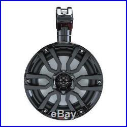 DS18 NXL8TPBK 8 Marine Wakeboard Tower Speakers Boat Jeep LED RGB Lights BLACK