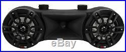 DS18 NXL-62TD-BK 6.5 Black Wakeboard Tower Speakers RGB Lights 750W Marine