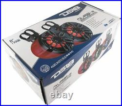 DS18 NXL-PS6R 2-Way Wakeboard Tower Speakers with Integrated RGB Lights 300 W