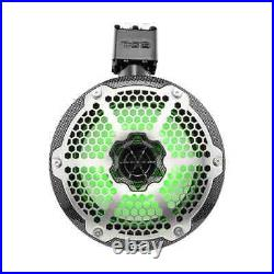 DS18 X Series Hydro 8 2-Way Wakeboard Tower Speakers 1 Driver RGB Light Pair