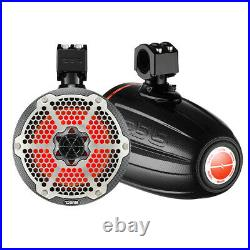 Ds18 X Series Hydro 6.5 Wakeboard Tower Speakers Rgb Lights 450w # Cf-x6tpbneo