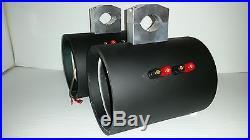 EMPTY! UTV Jeep 6 1/2 Stereo Wakeboard Tower Speakers Can Am Razor Rhino Radio