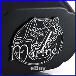 Four-Way Marine Wakeboard Tower Speaker 6x9 Inch 300 Watt Mid Range Audio Wea