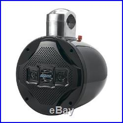Four-way Marine Wakeboard Tower Speaker 8 Inch 1200 Watt Mid Range Audio