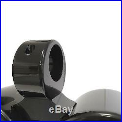 Galaxy Wakeboard Boat Tower Combined Marine Speaker Pods / Cans 6.5in Black