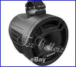 HIFONICS TPS-CP80 8 180w Marine Wakeboard Tower LED Speaker fr Boat ATV UTV RZR