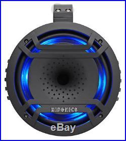 Hifonics TPS-CP80 8 180w Marine Wakeboard Tower LED Speaker 4 Boat/ATV/UTV/RZR
