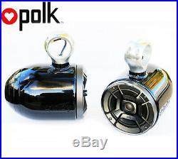 Indy Black Wakeboard Speaker Polk DB652 300Watt Marine speaker installed