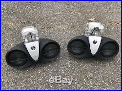 Infinity 6100m 6000 Wakeboard Wake Tower Speaker System (missing Amp And Mic)