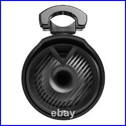 JBL 8.5 MT8HLB Wake Tower X Speakers 450W Pair Black Wakeboard Tower RGB LED