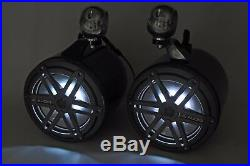 JL Audio 6.5 Wakeboard Tower Speakers Black NEW! RGB