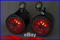 JL Audio 6.5 Wakeboard Tower Speakers Black RGB