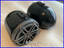 JL Audio 7.7 Marine Wakeboard Tower Enclosed Speakers (M3-770X-S-Gm)