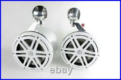 JL Audio 7.7 Marine Wakeboard Tower Speakers & Cans-NEW