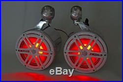 JL Audio 7.7 Marine Wakeboard Tower Speakers & Cans-NEW! RGB