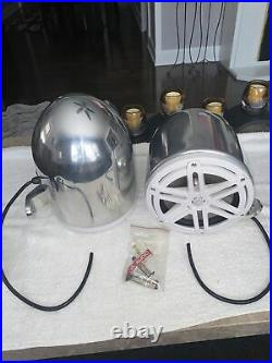 JL Audio 7.7 Marine Wakeboard Tower Speakers & Cans New Never Used