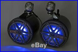 JL Audio 7.7 Wakeboard Tower Speakers Black NEW! RGB