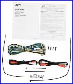 JVC KS-DR1004D 4-Channel Marine Amplifier+4 Black 6.5 Wakeboard Tower Speakers