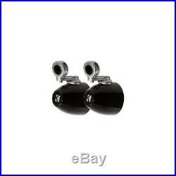 KICKER 40KMMTES Marine Wakeboard Tower Speaker 4-Zoll-Mini-Gehäuse Paar schwarz