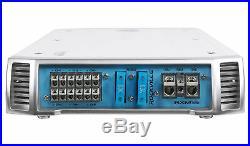 Kicker 41KMT674 6-3/4 6.75 300W Marine Wakeboard Tower Speakers+6-Ch Amplifier