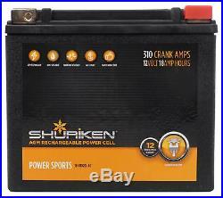 Kicker 41KMT674 6-3/4 6.75 300W RMS Marine Wakeboard Tower Speakers+Battery