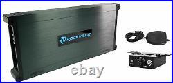 Kicker 41KMT674 6.75 300W RMS Marine Wakeboard Tower Speakers+6-Channel Amp
