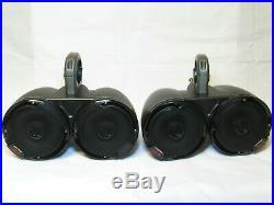 Kicker Marine Tower Wakeboard Enclosure with 4 Speakers Alpine 6.5