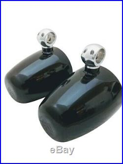 Krypt 8 Wakeboard Tower Speaker Cans, Empty Pods, Clamps Polished or Black