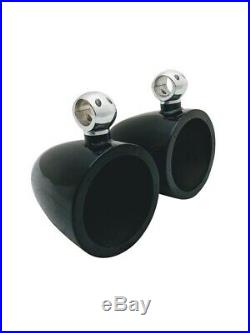 Krypt 8 Wakeboard Tower Speaker Cans, Pods Clamp, Rockford Fosgate PM282H-B, PM282