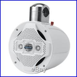 Lanzar AQWB8W 1200W Aquatic 8 Marine Wakeboard Water Resistant Tower Speaker