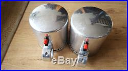 Liquid Audio Silver Aluminum 6.5 Polk MM Wakeboard Tower Speakers