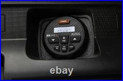 MB Quart GMR-3 Marine Bluetooth Receiver+(4) 8 White Wakeboard Tower Speakers