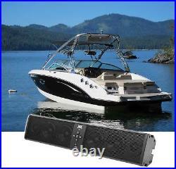 MTX Six-Speaker Bluetooth Marine Boat Overhead Wakeboard Tower Soundbar System