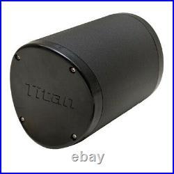 Malibu 6169315 Titan Black Alpha 1 Standard Boat Wakeboard Tower Speakers Pair