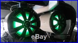 Malibu 8 Tower Speakers Kicker 300 watt multi color LED Lighting