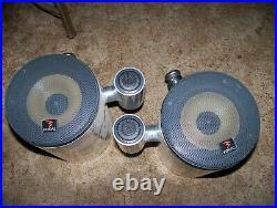 Marine boat wakeboard tower speakers focal 3 samson sports aluminum box's
