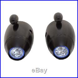 MasterCraft PWT 07-09 Boat Wakeboard Tower Speaker Pods with Lights (Pair)