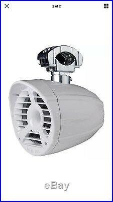 Memphis Mxa62tws 6.5 White 100w Rms Wakeboard Tower Speakers Horn Tweeters New