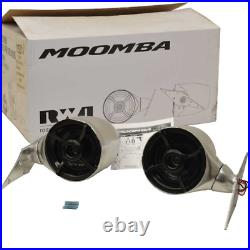 Moomba Boat Wakeboard Tower Speakers C915-115214 Roswell R0804B (Pair)