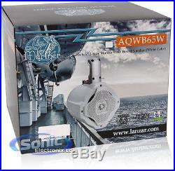 NEW! Lanzar AQWB65W 500W 6-1/2 2-Way Marine Wake Board Tower Speaker