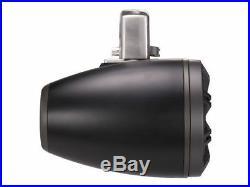 New! Pair KICKER 45KMTC65 6.5 Inch 390 Watts Marine Wakeboard Tower Speakers