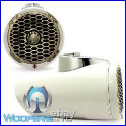 Ob Rockford Fosgate Pm2652w White 6.5 Marine Wakeboard Boat Tower Speakers