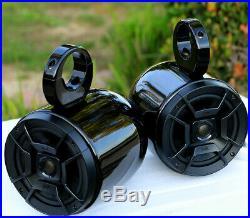 Origin Advancer Wakeboard Tower Black + Pair of Polk DB652 Wakeboard Speaker