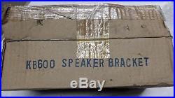 PAIR Monster Tower WAKEBOARD KB600 SPEAKER BRACKET FOUR WINNS BOAT MARINE KICKER