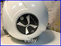 PAIR of Exile Audio XM9 HLCD Wakeboard Tower Speakers White Boat Marine Speaker